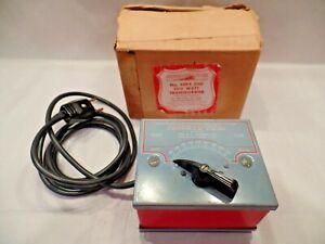 Gilbert American Flyer 4BEX 230 Volt, 110 Watt Transformer - With Original Box