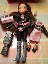 2001 Original Bratz Doll Including Outfits, Shoes, Brush, Purse & Bottle