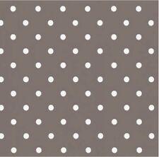 Klebefolie Punkte Dots taupe (grau-braun) 45x200 cm  Retro Dekorfolie Möbelfolie