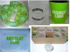 Absolut Vodka Party Pack: Game, Shot Glasses, Koozies, Sample Cups, Serving Tray