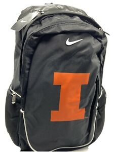 Nike Illinois Fighting Illini Backpack Black - Brand New with Tags!