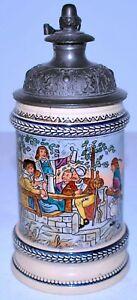 Antique German Stein by Reinhold Merkelbach # 442