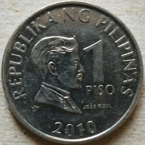Philippines 2010 1 Piso coin
