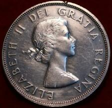 1960 Canada Silver One Dollar Foreign Coin