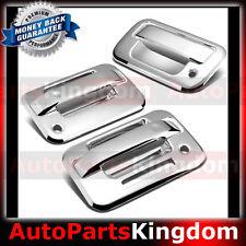 04-14 Ford F150 Chrome 2 Door Handle+keypad+w/ Passenger keyhole+Tailgate Cover