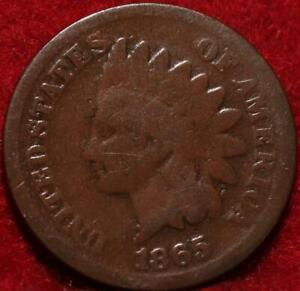 1865 Philadelphia Mint  Indian Head Cent