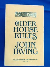 THE CIDER HOUSE RULES - UNCORRECTED PROOF BY JOHN IRVING