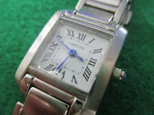 Ladies cartier watch in Silver colour