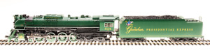 """Broadway Limited HO 4909 C&O J3a 4-8-4, #614, """"The Greenbrier Presidential Expre"""