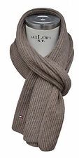 Tommy Hilfiger - écharpe châle tricoté - coton cachemire - Camel Marron - Neuf