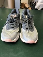 Used Asics Women's Size 7  Mid Gray/Silver/Carbon Running Shoes T855N