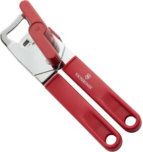 Victorinox Swiss Army Can Opener Stainless Steel Red Handle Carded 43800 **NEW**