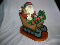 """Vintage Lynn Haney """" Through the Years line"""" Old World Father Christmas"""