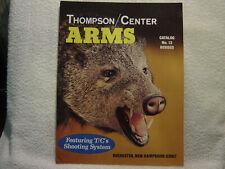 THOMPSON CENTER ARMS 1986 catalog 13 REVISED
