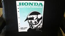 Service manual, Honda 85-87 CR80R