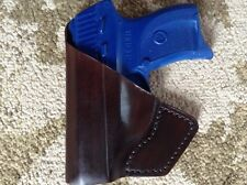 Ruger LC9 LC9S EC9S   Front Pocket Carry Leather Holster