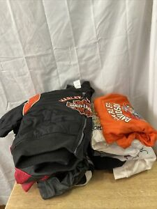 Lot of Harley Davidson children's clothes and Jackets S9
