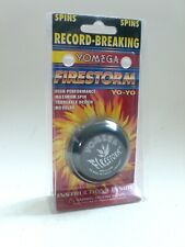 Genuine YOMEGA FIRESTORM YO YO Black Yo-Yo Yoyo in Package 1998