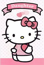 DAUGHTER Official HELLO KITTY Birthday Card