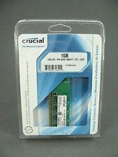 Crucial PC2-5300 (DDR2-667) 1 GB UDIMM 667 MHz PC2-5300 DDR2 RAM Memory