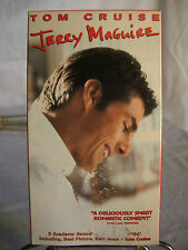 Vintage VHS Video Tape - Tom Cruise and Cuba Gooding in Jerry Maguire  1996