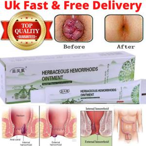 Antibacterial Cream-Chinese Herbal Hemorrhoids Piles Treatment 20g UK SELLER