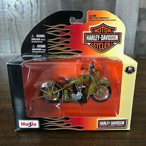 Maisto Harley-Davidson 1928 JDH Twin Cam 1:18 Diecast Motorcycle Series 24