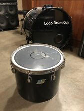 "15"" Ludwig VISTALITE concert tom drum B/O BLACK 12x15"" #YB9"