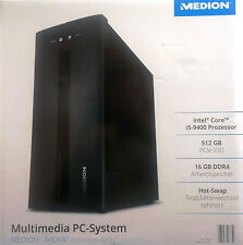Medion MD 34300 E63007 Multimedia PC System 512 GB 16 GB USB 3.2 WLAN
