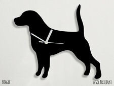 Beagle Dog Silhouette 2 - Wall Clock