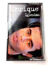 Enrique Iglesias Latin Music Cassette Tape 1995 Spanish