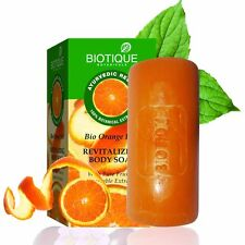 Biotique Bio Orange Peel Revitalizing Body Soap With Pure Fruit & Vegetable Extr