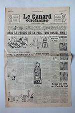 ANCIEN JOURNAL -  LE CANARD ENCHAINE N° 1710 DU 29 JUILLET 1953 *
