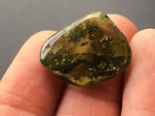 Vesuvianite Idocrase Tumblestone Crystal ~  ( 6gm ~ 25mm ) Specimen 3