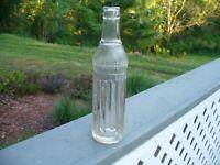 Old 1920's Northern Bottling Clear Glass Soda Bottle Minot N.D.