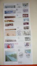 lot D fdc theme divers  10 enveloppes