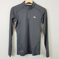 MACPAC | Womens Grey Half zip Pullover Top [ Size AU 8 or US 4 ]