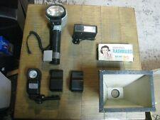 vintage camera equipment lighting mixed lot #5