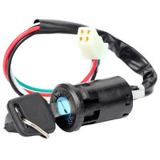 ATV Motorcycle Lock Key Ignition Switch 4 Wires 50 70 90 110 125 150 200 250CC