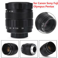 Fujian 35mm f/1.7 CCTV Lens Fixed Focal Lenses for C Mount Canon Sony Cameras LJ