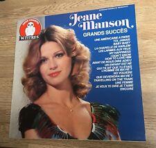 LP 33 tours Jeane MANSON 16 grans succès 1983 quasi NEUF