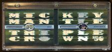 MICKEY MANTLE 2008 TOPPS BOOKLET #D /9 GAME PATCH/JERSEY/BAT 24X PIECE HOF   WOW