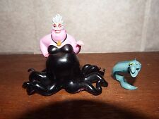 RARE Disney Villains The Little Mermaid Ursula Eel Flotsam / Jetsam figure toy
