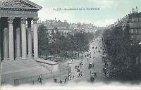 PARIS – Boulevard de la Madeleine – France