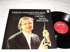 """Holliger/I Musici """"Vivaldi:5 Concerti Per Oboe"""" 1979 LP,Nice NM!,Philips, Import"""