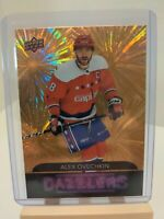 Alex Ovechkin 2020-21 Upper Deck Series 1 Dazzlers Orange SP #DZ-47 Capitals