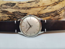 USED VINTAGE 1960'S NIVADA SILVER MANUAL WIND MAN'S WATCH