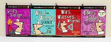 4x IntelliQuest Quiz Book Pack Including Times Tables Tutor, Wars Warrio......