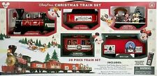 Disney Parks Store 30-Pc Christmas Train Set Remote Mickey Mouse & Friends 2016