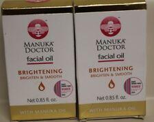(2) Manuka Doctor Facial Oil Brightening & Smooth With Manuka Oil 0.85 fl oz